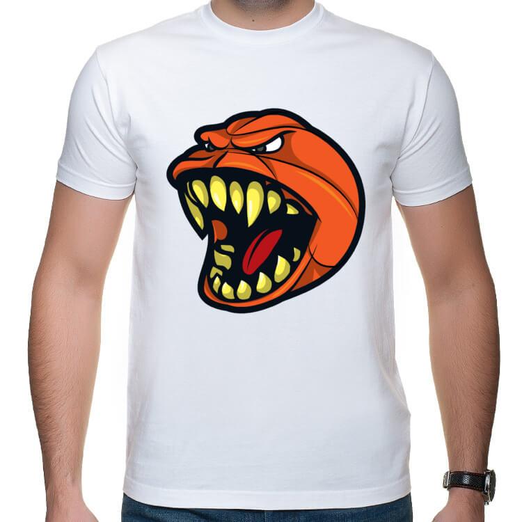 Koszulka z piłką do koszykówki