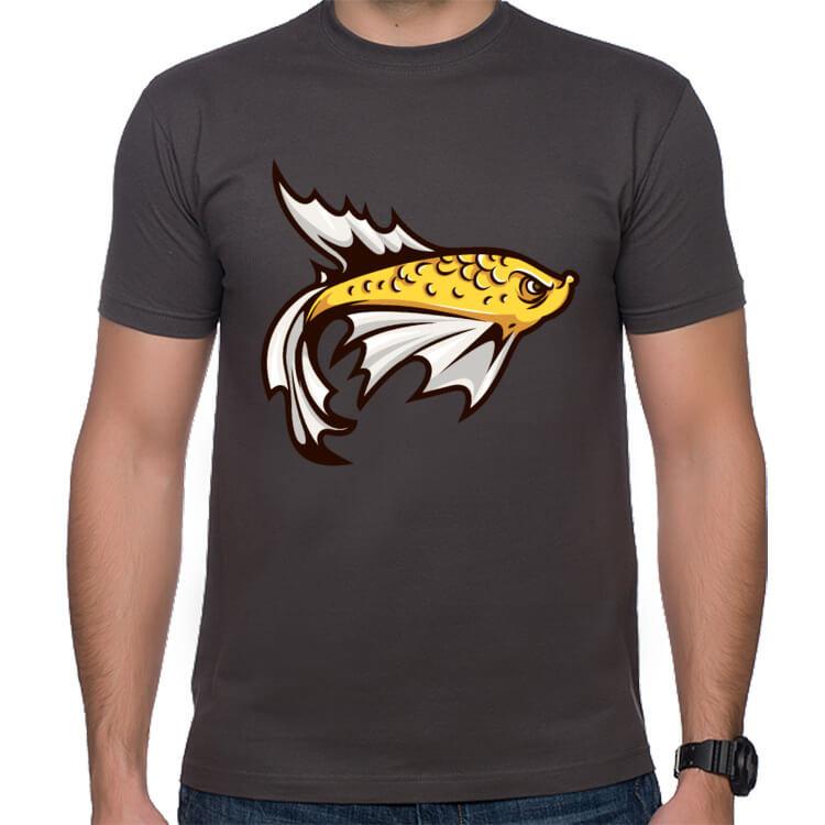 Koszulka dla amatora wędkarstwa