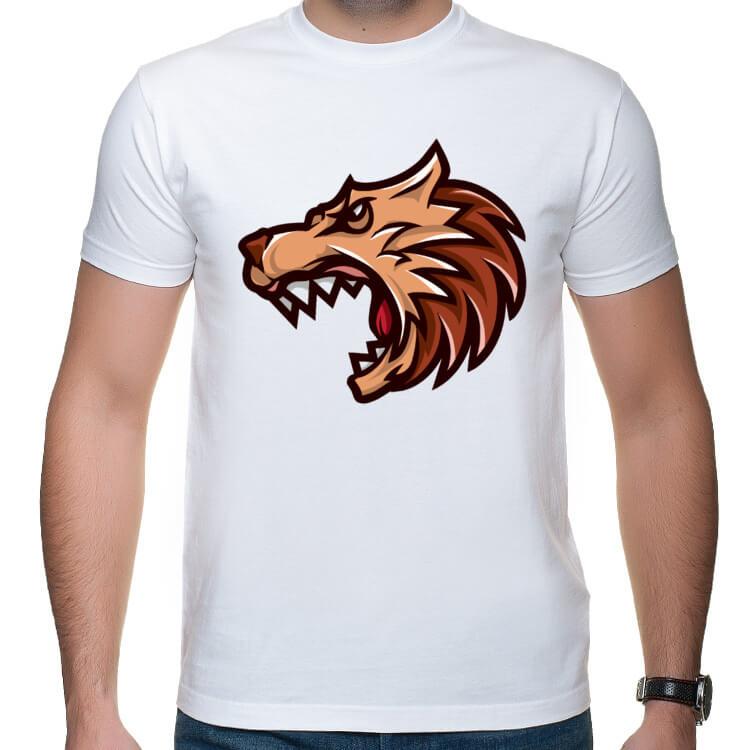 Koszulka na siłownię - agresywna bestia