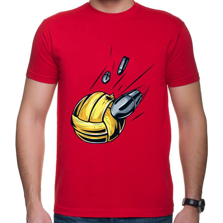 Koszulka Strzelająca piłka