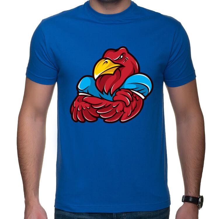 Koszulka napakowany orzeł