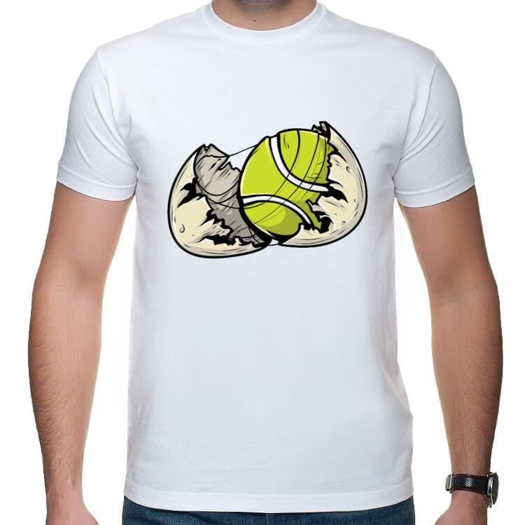 Koszulka z piłką w jajku