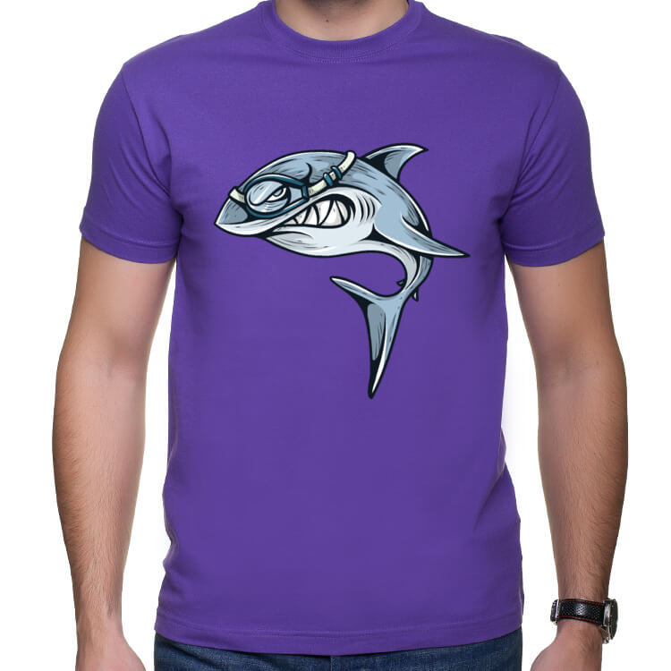 Koszulka Rekin płetwonurek