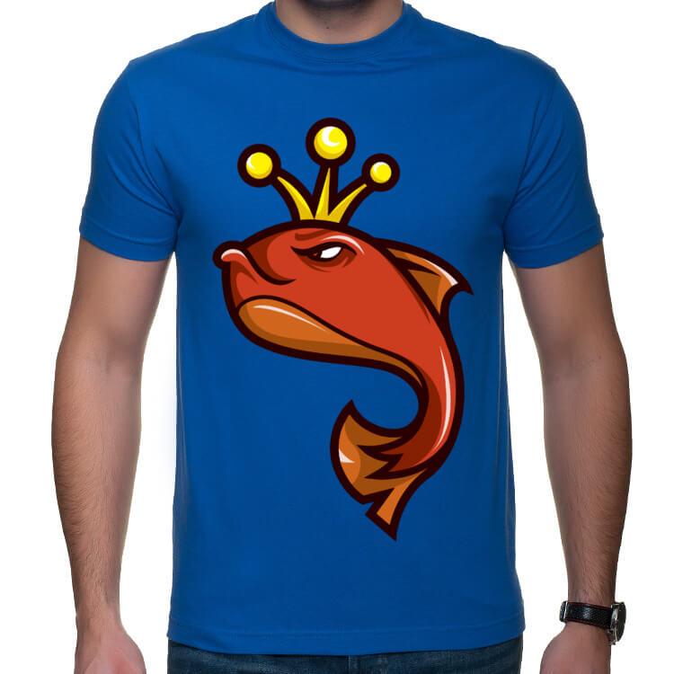Koszulka z królem ryb