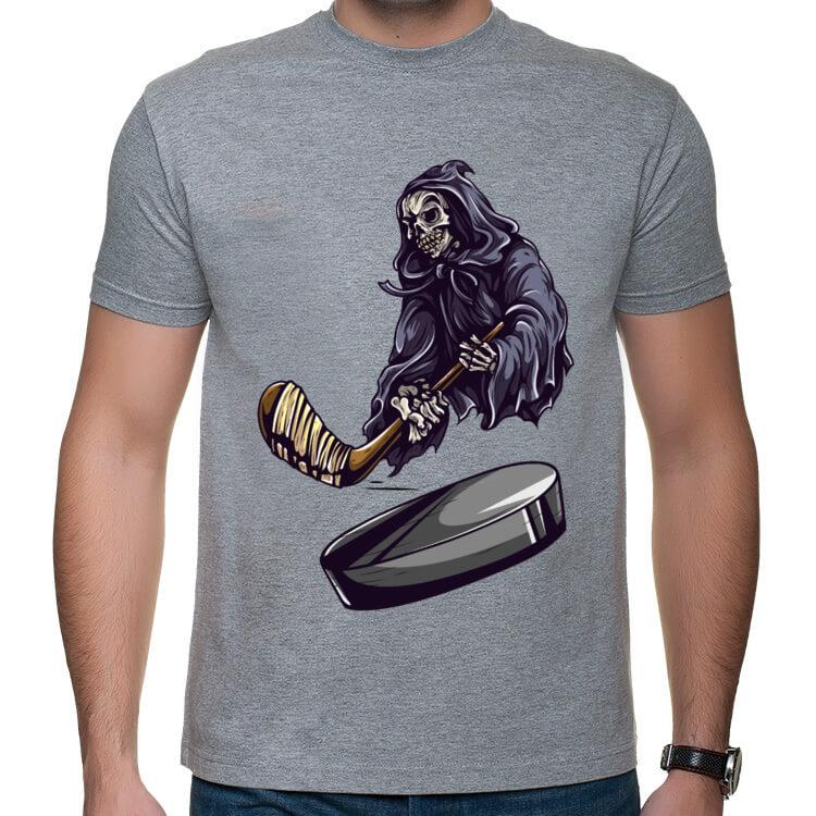 Koszulka Szkieletor hokeista