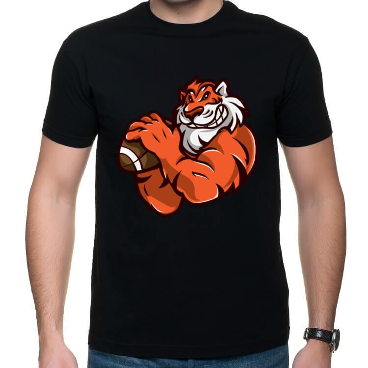 Koszulka Napakowany tygrys