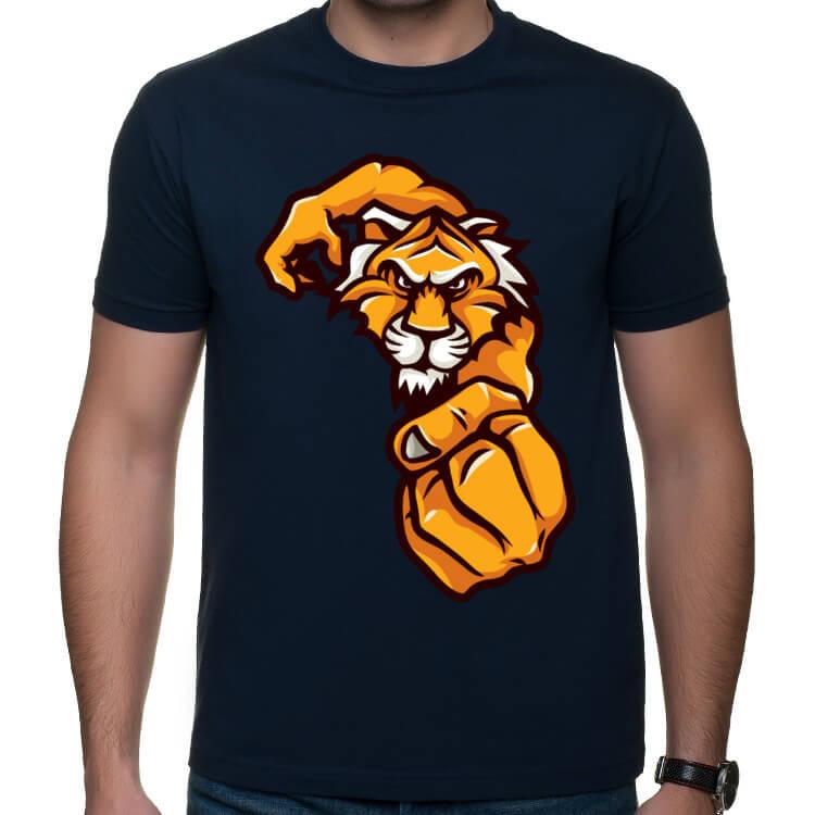 Koszulka na siłownię - Tygrys