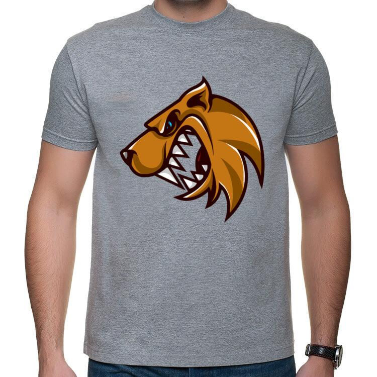 Koszulka na siłownię - Wściekły pies