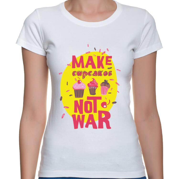 Koszulka Babeczki zamiast wojen