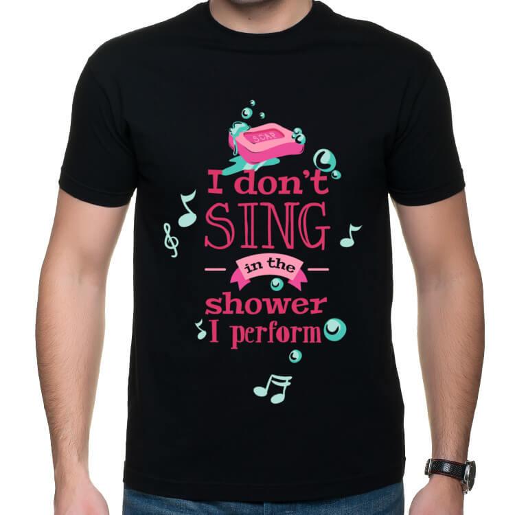 Ja nie śpiewam pod prysznicem tylko wykonuję