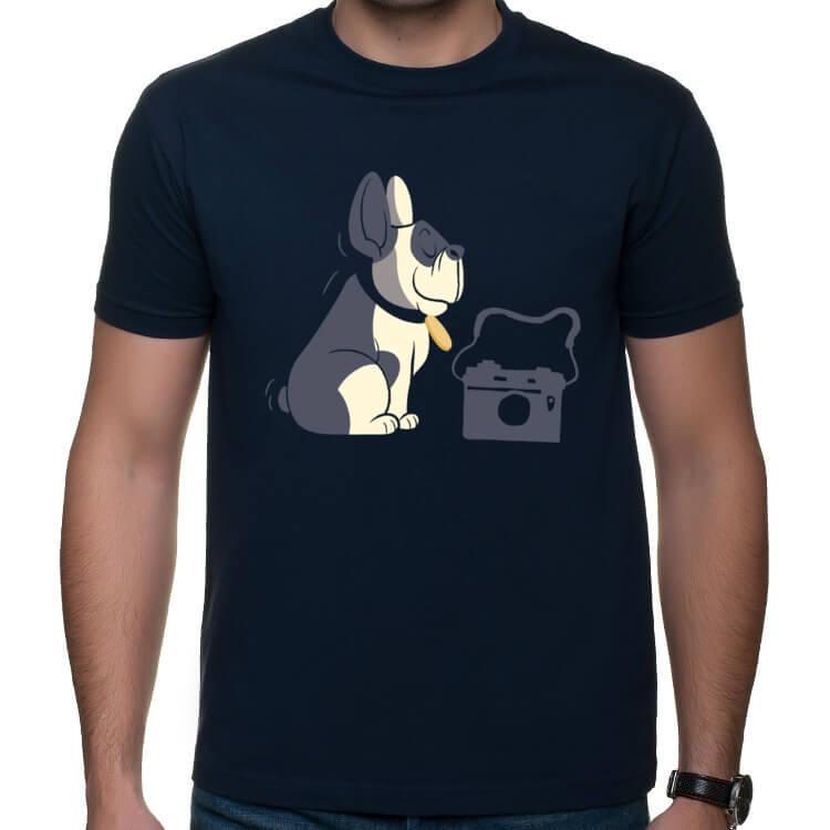 Koszulka Pies fotograf