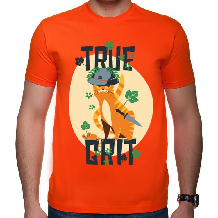 Koszulka z kotem wojownikiem