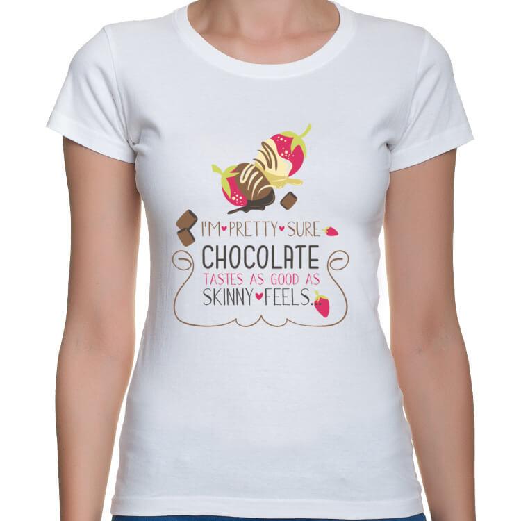 Koszulka dla wielbicielki czekolady