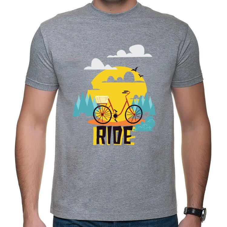 Koszulka na rodzinne wyprawy rowerowe