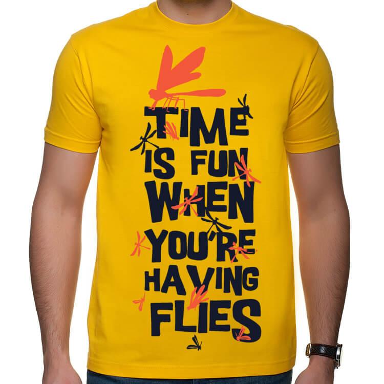 Koszulka Czas leci przy dobrej zabawie