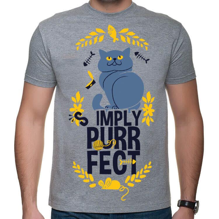 Koszulka Simply Purrfect