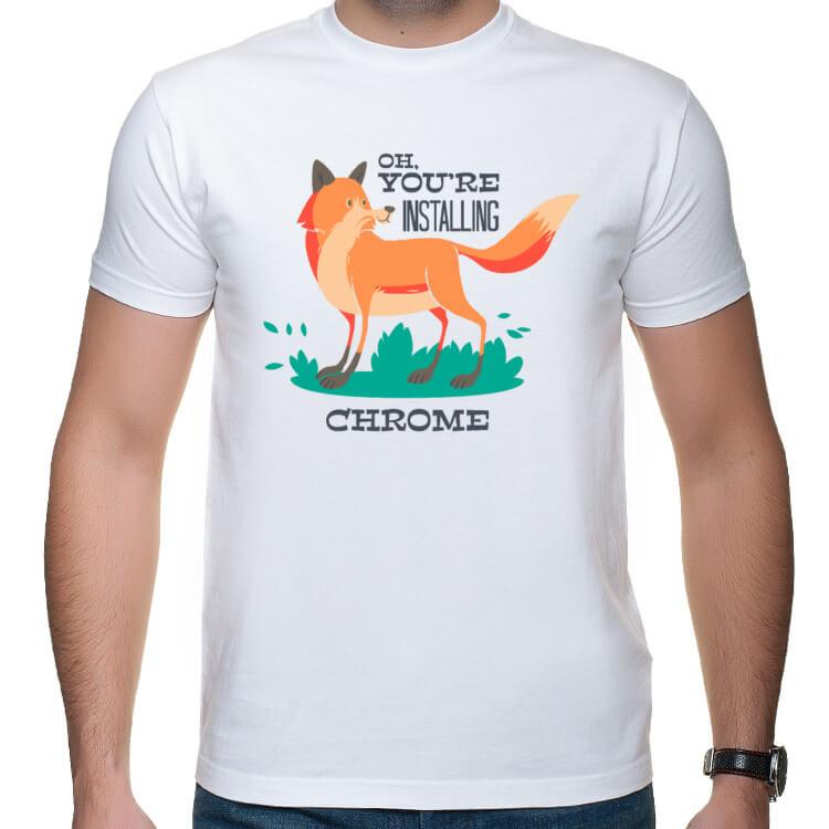 Koszulka Zawiedziony lis