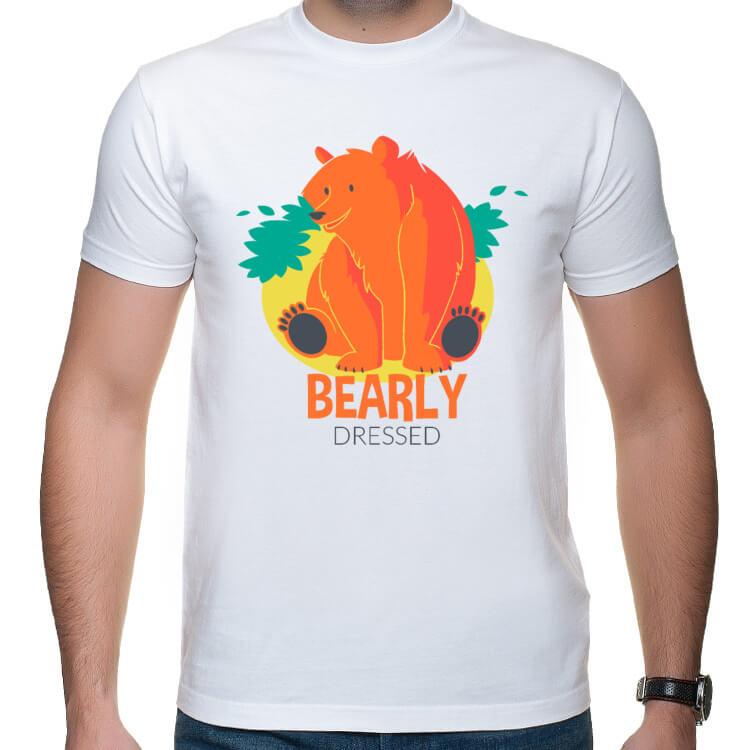 Koszulka ze słodkim niedźwiadkiem