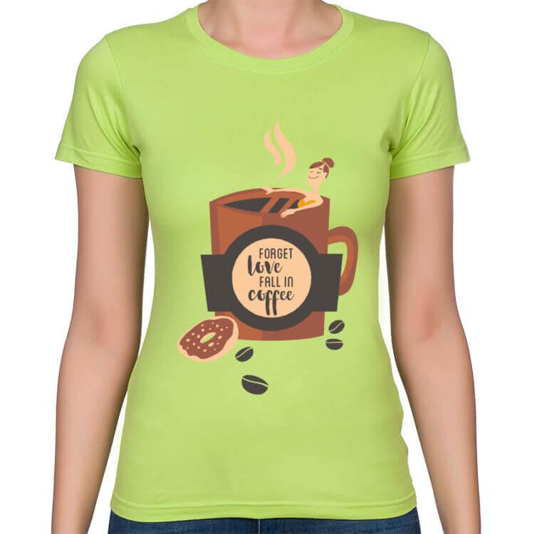 Koszulka Zakochana w kawie