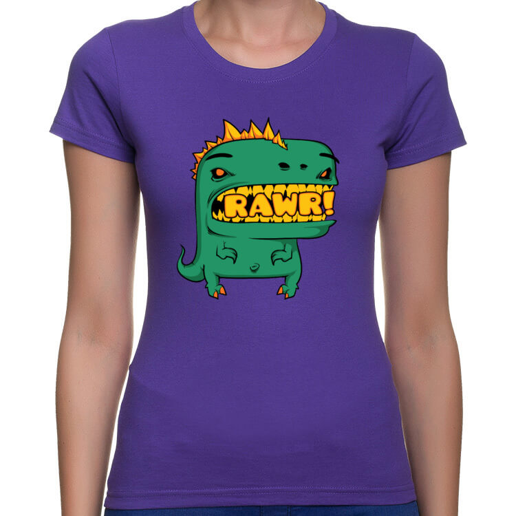 Koszulka damska RAWR!