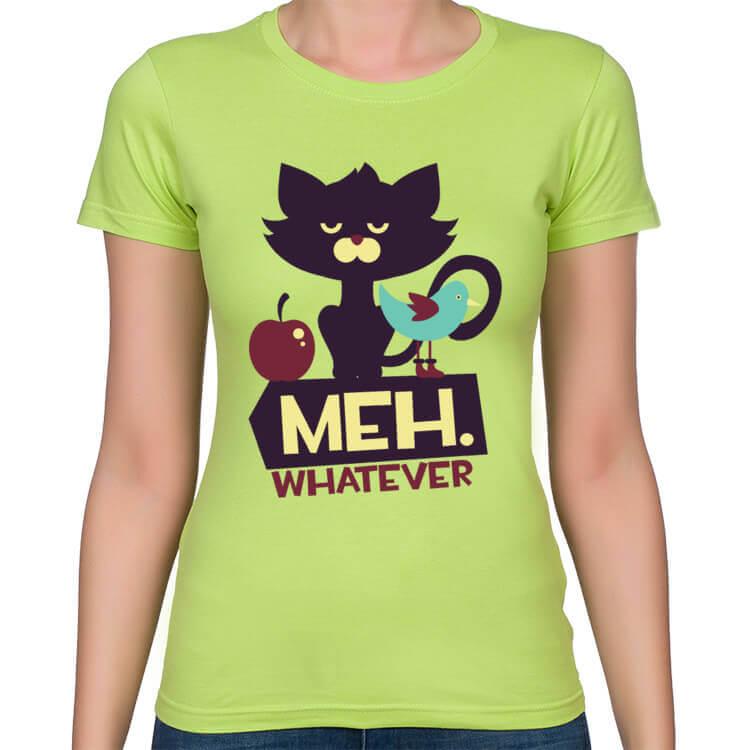 Koszulka damska Meh. Whatever