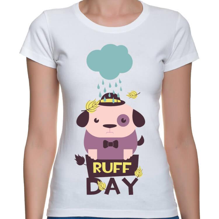 Koszulka damska Ruff day