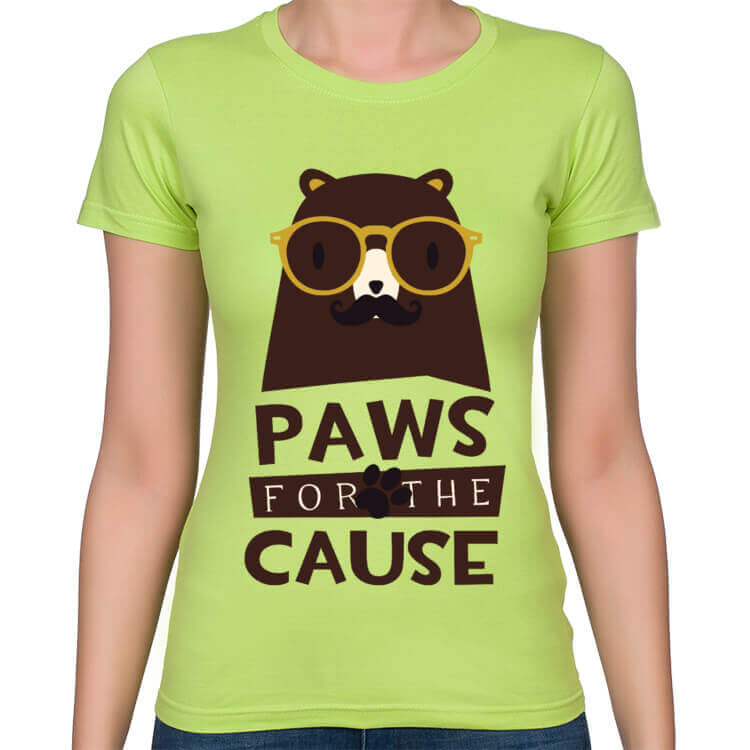 Koszulka damska Paws for the cause