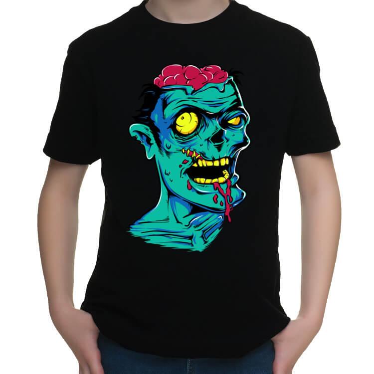 Koszulka dziecięca Zielony zombie