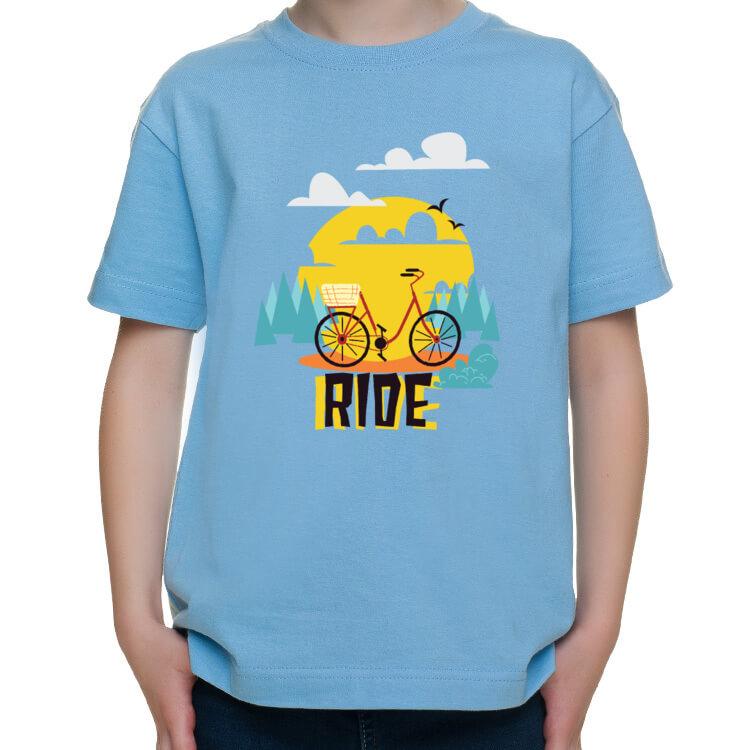 Dziecięca koszulka na rodzinne wyprawy rowerowe