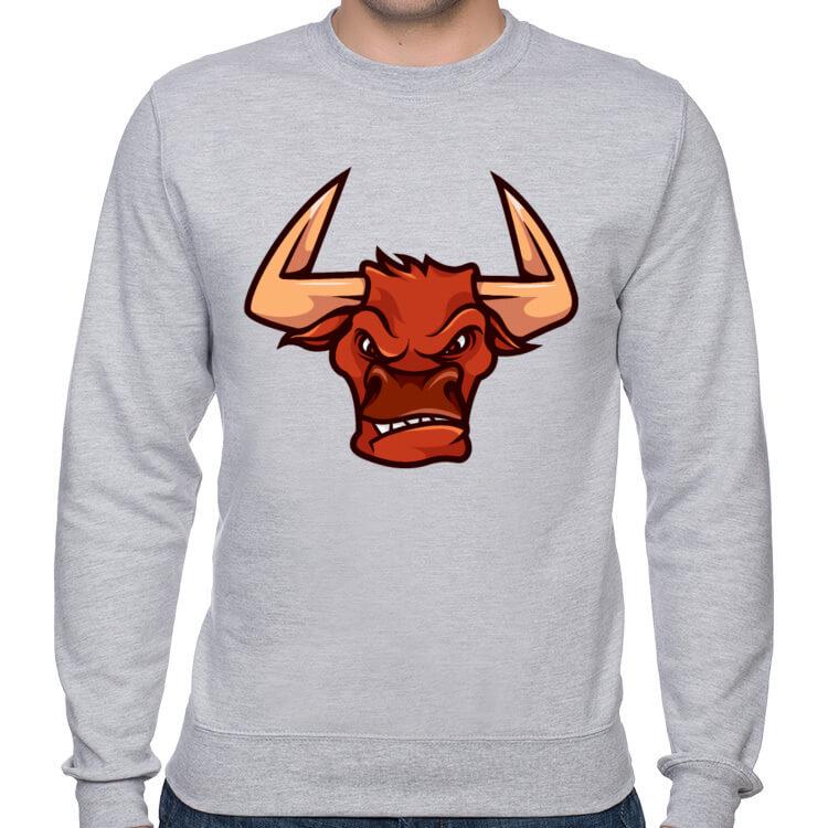 Bluza męska Wściekły byk
