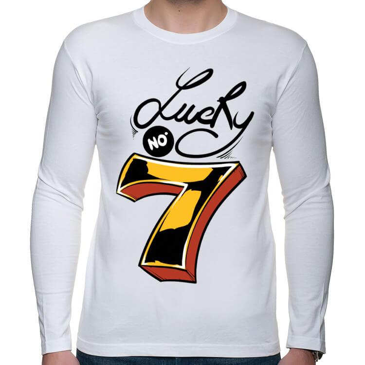 Koszulka longsleeve Szczęśliwa siódemka