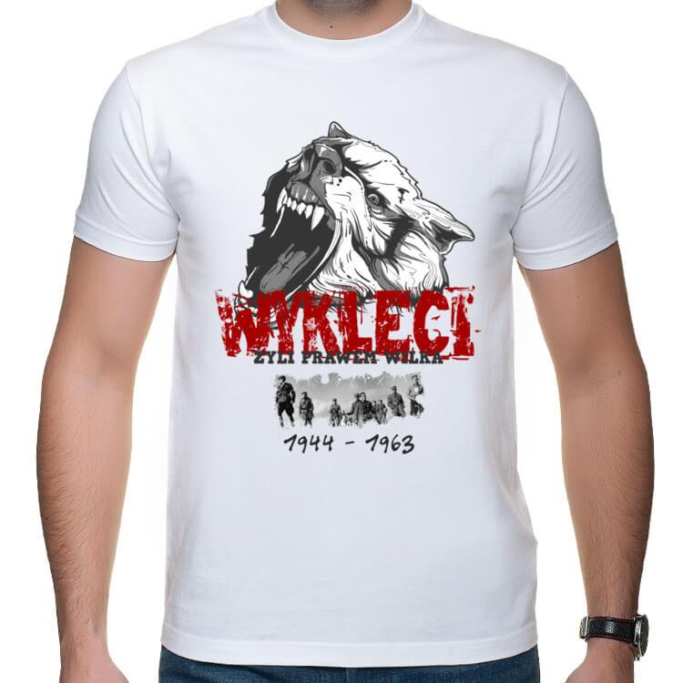 Koszulka Żołnierze Wyklęci - Żyli prawem wilka