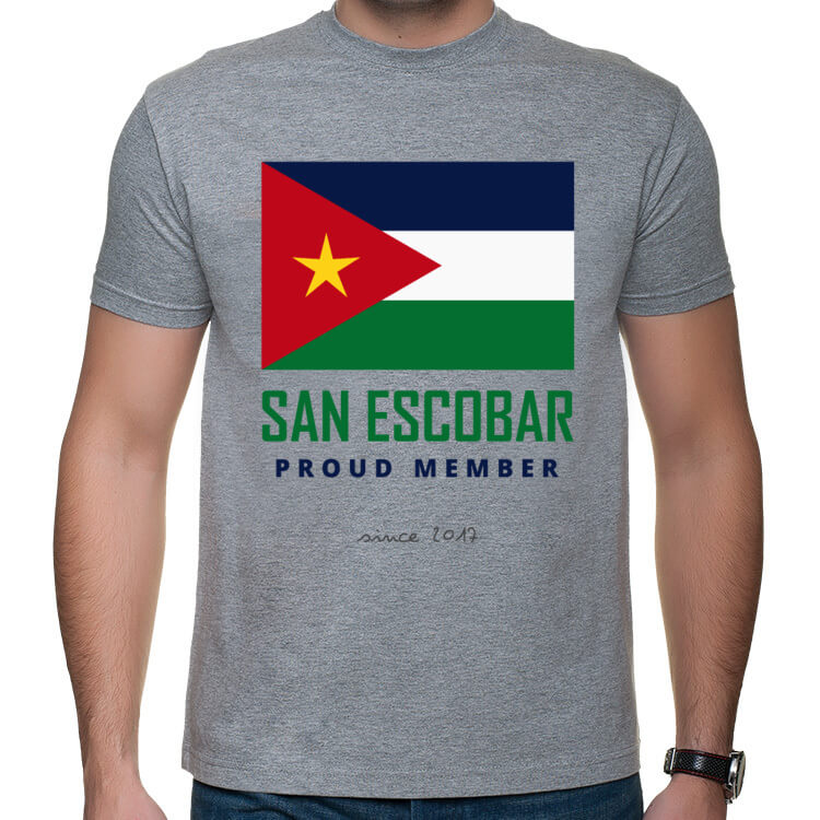 Koszulka San Escobar Proud Member