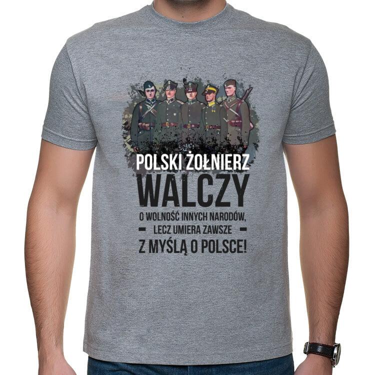 dd2b4ab64a5c95 Koszulka Polski Żołnierz | Shirtz.pl - Fajne koszulki