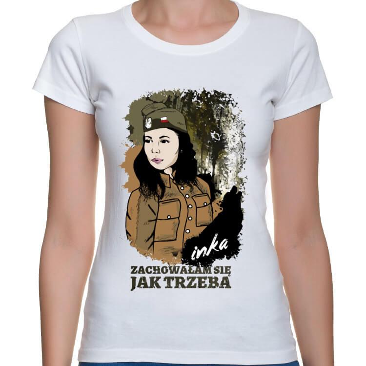 Koszulka Inka - Zachowałam się jak trzeba