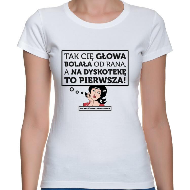 Koszulka Na dyskotekę to pierwsza