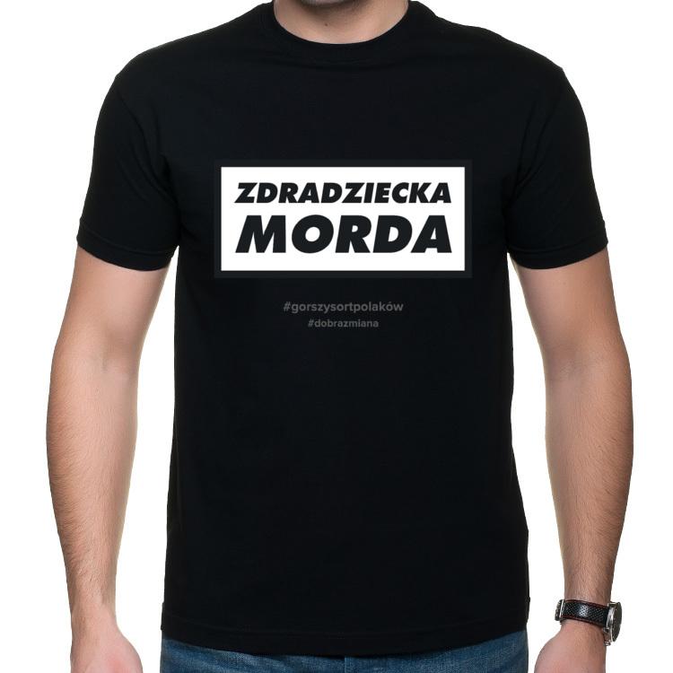 Koszulka Zdradziecka Morda - ciemna