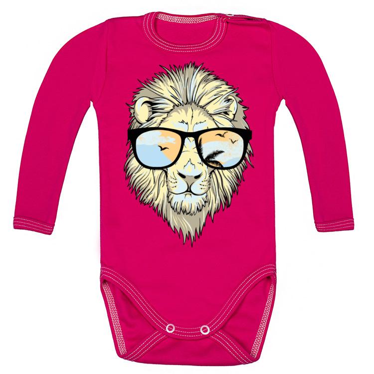 Bodziak z wyluzowanym lwem