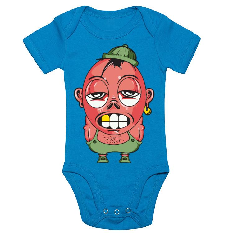 Body niemowlęce z mocno wyluzowanym gościem