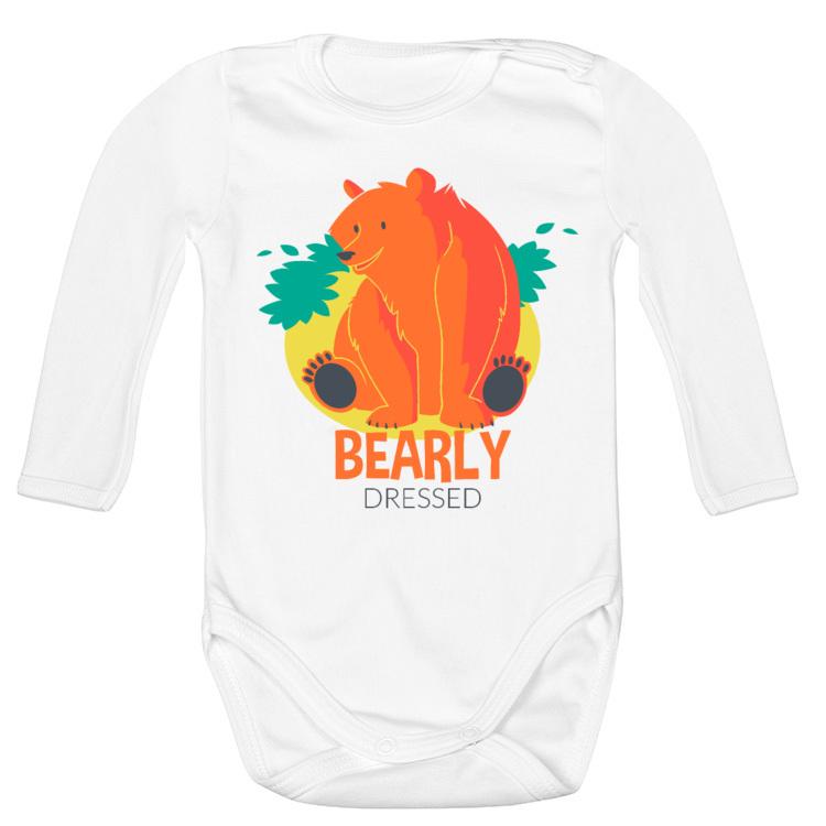 Body dla dziecka ze słodkim niedźwiadkiem