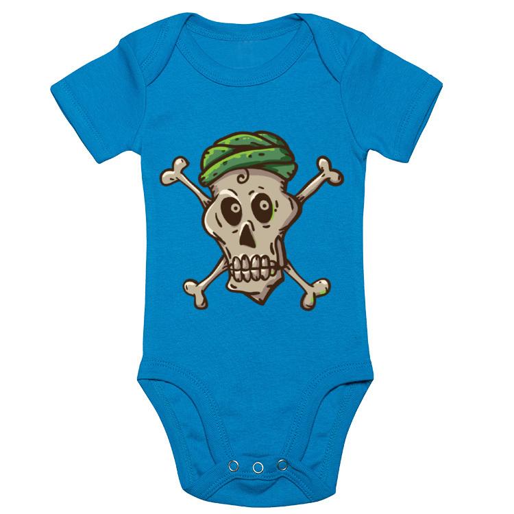 Body z piracką czaszką - strój małego pirata