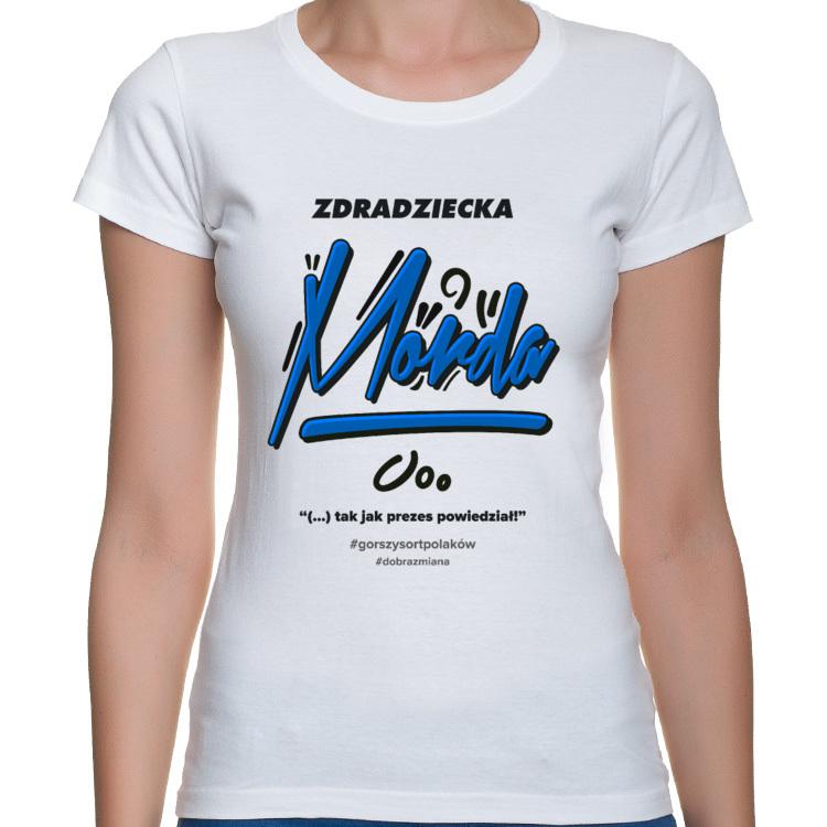 Koszulka Zdradziecka Morda - damska