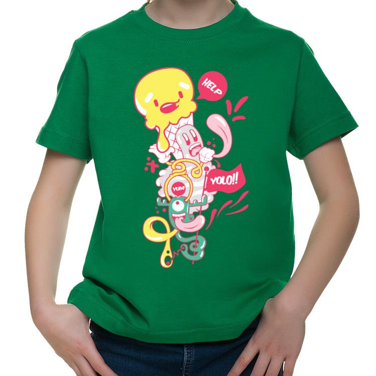 Koszulka dziecięca Yolo - żyje się tylko raz