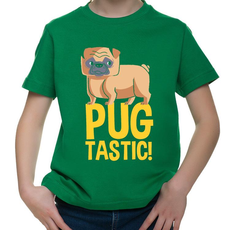 Dziecięca koszulka z mopsem
