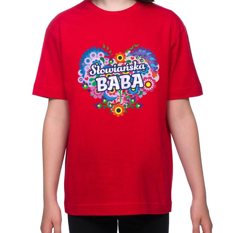 Koszulka dla małej Słowiańskiej Baby