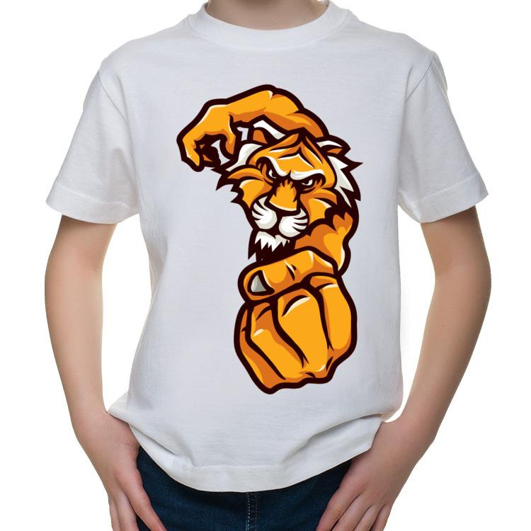 Dziecięca koszulka z wielkim tygrysem