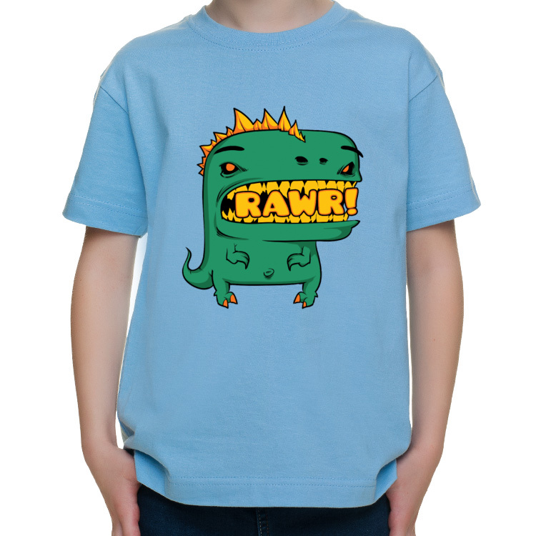 Dziecięca koszulka z dinozaurem