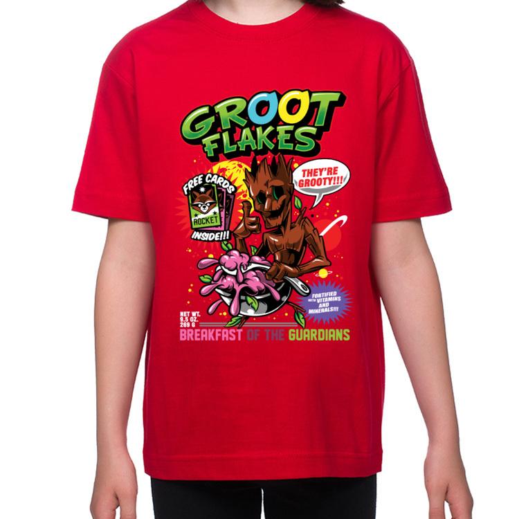 Koszulka dziecięca Groot flakes