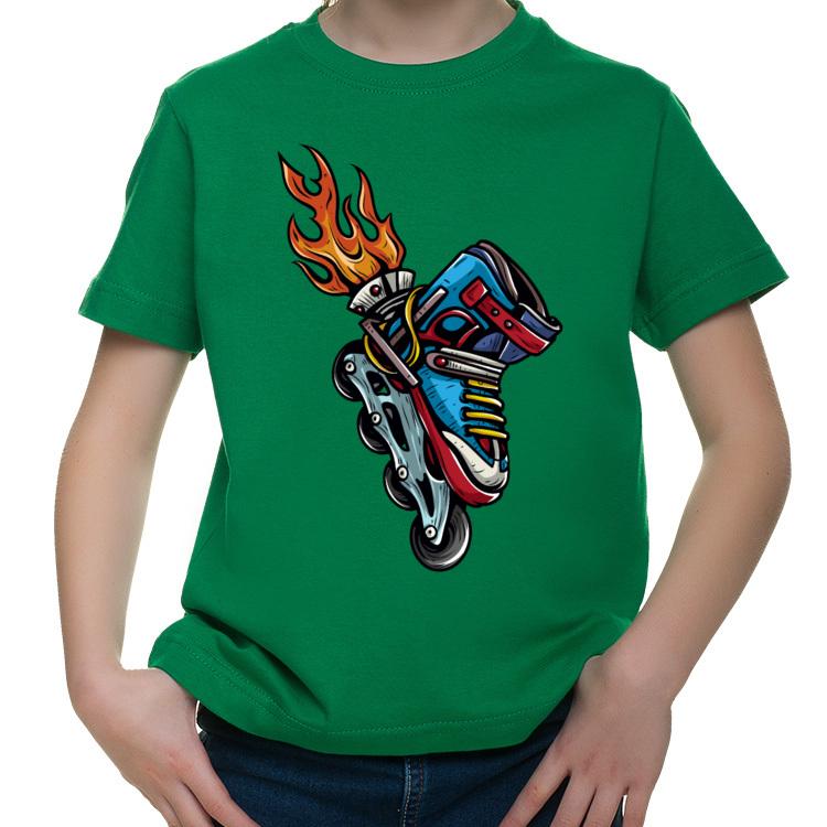 Koszulka dla małego rolkarza