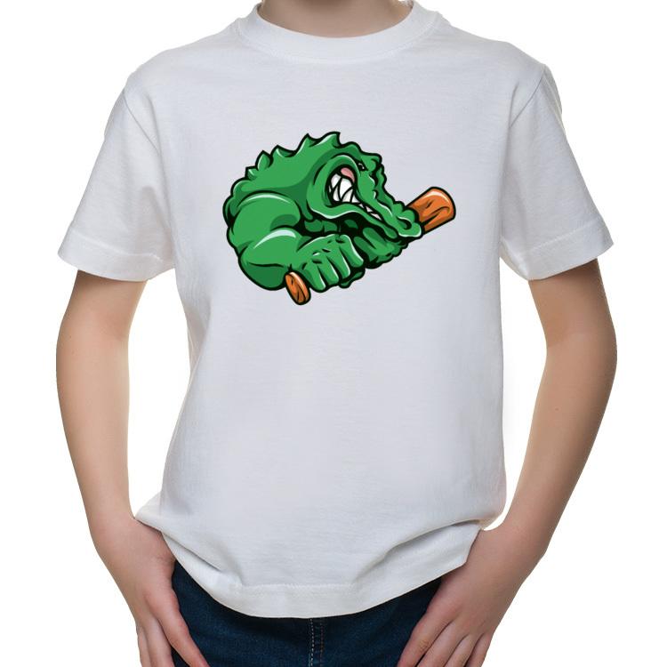 Koszulka dziecięca z krokodylem